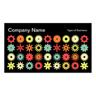 Cogs - Colors 04 Business Card