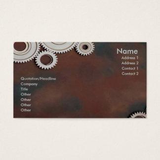 Cogs Profile Card