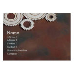 Cogs Profile Card Large Business Cards (Pack Of 100)