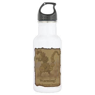 "CogzillA ""Warning!"" Water Bottle"