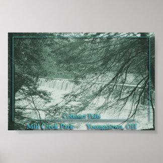 Cohasset Falls Poster
