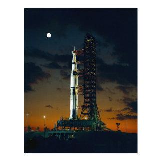 Cohete de Saturn V Membrete