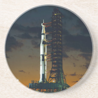 Cohete de Saturn V Posavasos Diseño
