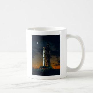 Cohete de Saturn V Taza De Café