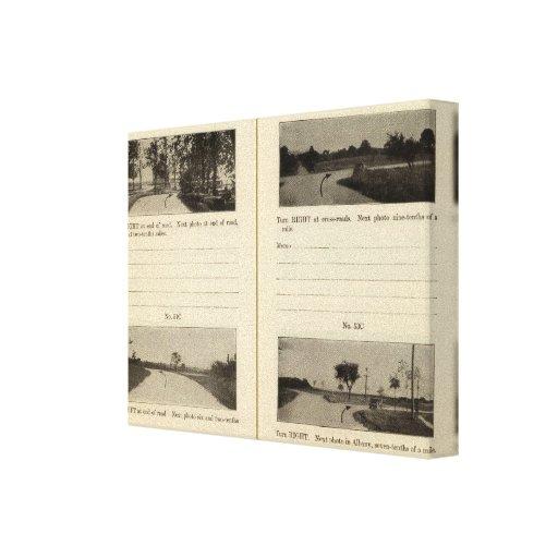 Cohoes Albany, NY Impresión En Lienzo Estirada