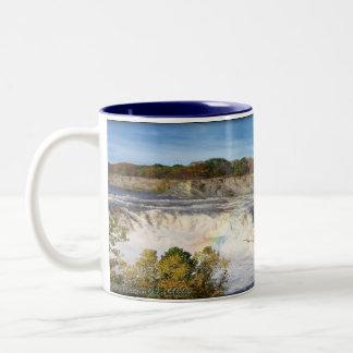 Cohoes Falls Two-Tone Coffee Mug