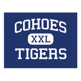 Cohoes - Tigers - High School - Cohoes New York Postcard