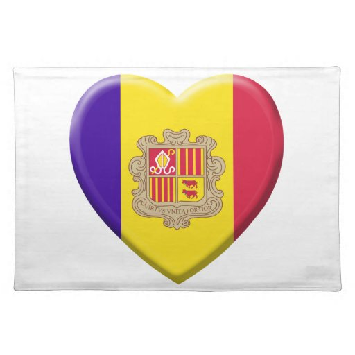 Coil Andorre flag Placemat