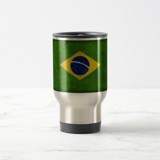Coil Brésil 15 Oz Stainless Steel Travel Mug