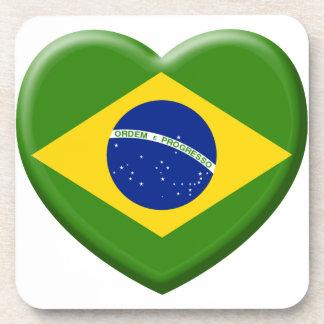 Coil Brésil Samba Beverage Coasters