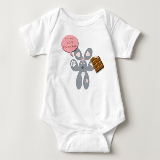 coil chocolate baby bodysuit