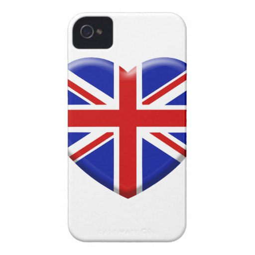 coil England flag iPhone 4 Case-Mate Case
