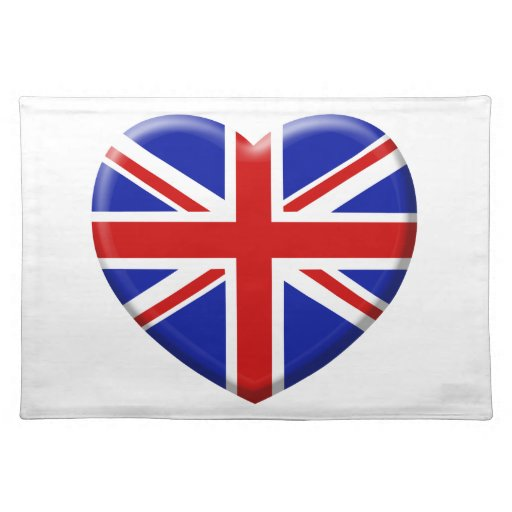 coil England flag Place Mats