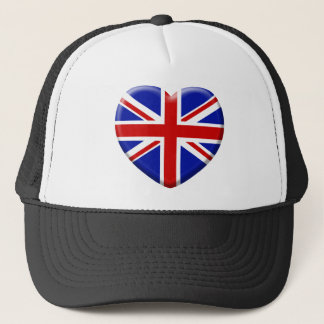 coil England flag Trucker Hat