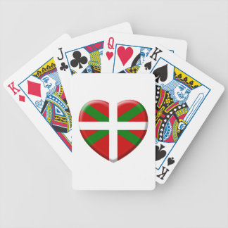 coil flag Basque Country Bicycle Playing Cards
