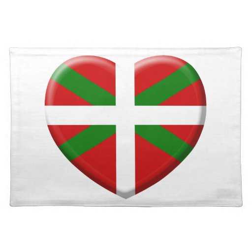 coil flag Basque Country Placemats