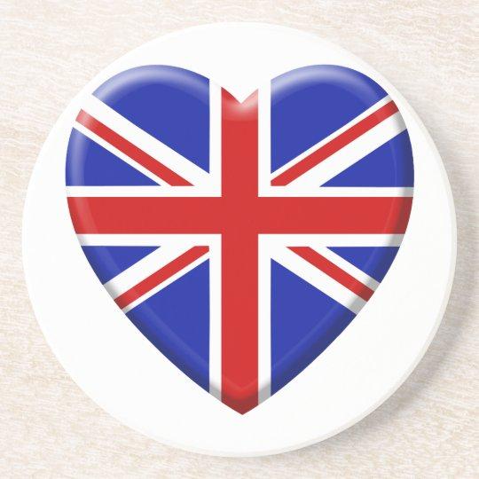 coil flag the United Kingdom England Coaster