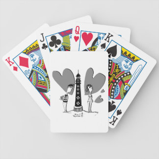 Coil in Biarritz Bicycle Playing Cards