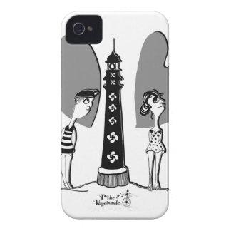 Coil in Biarritz iPhone 4 Case