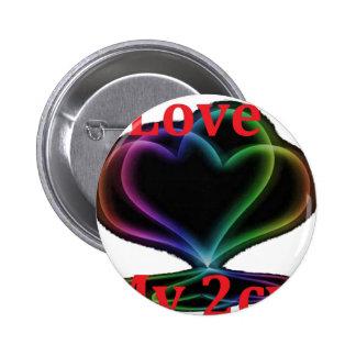 COIL MY 2CV.png Pinback Button