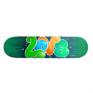 Coil Skate Board