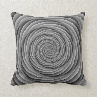 Coiled Cables in Black and White Pillows