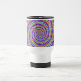 Coiled Cables in Orange Blue and Pink Mug