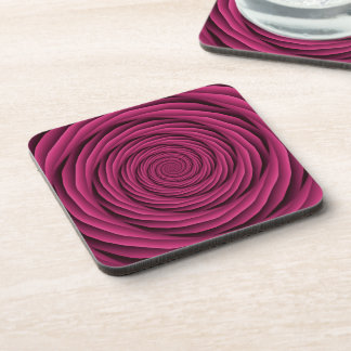 Coiled Cables in Pink Coasters