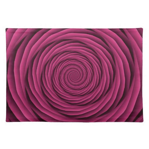 Coiled Cables in Pink Placemats