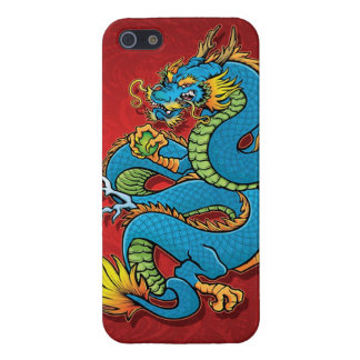 Coiled Chinese Dragon Cover For iPhone SE/5/5s