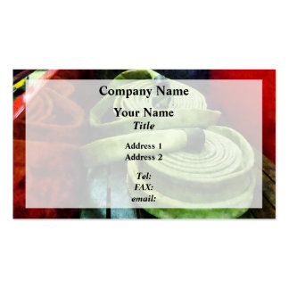 Coiled Fire Hoses Business Card