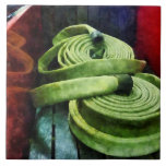 Coiled Fire Hoses Tile