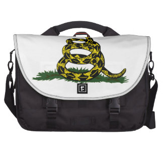 Coiled Gadsden Flag Snake Commuter Bags