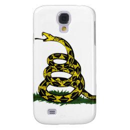 Coiled Gadsden Flag Snake Samsung Galaxy S4 Case
