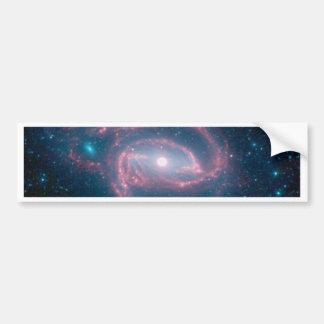 Coiled galaxy bumper sticker