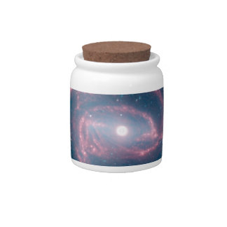 Coiled galaxy candy jars
