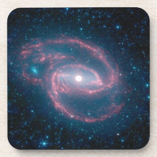 Coiled galaxy drink coaster