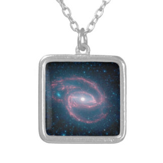 Coiled galaxy pendants