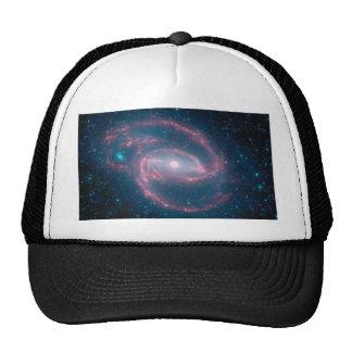 Coiled galaxy trucker hat