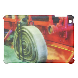 Coiled Hose on Fire Truck iPad Mini Cases