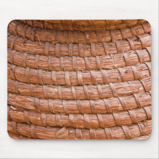 Coiled reed mouse pad