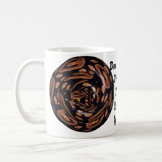 Coiled Snake Coffee Mug