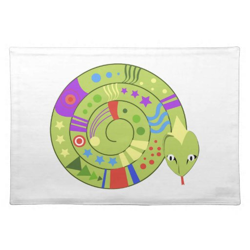 Coiled Snake Placemats