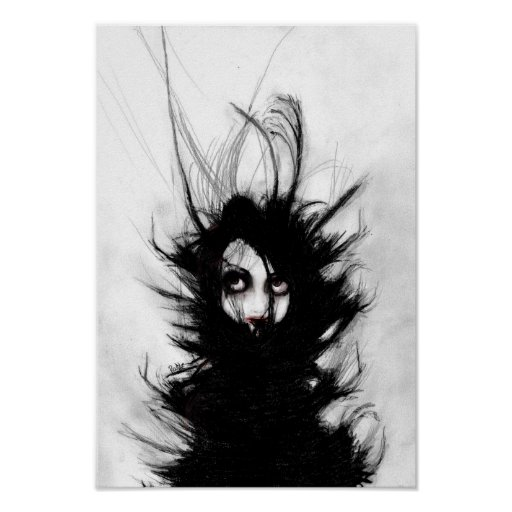 Coiling and Wrestling. Dreaming of You Print