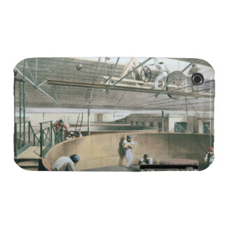 Coiling the telegraph cable in the tanks at the wo iPhone 3 cases