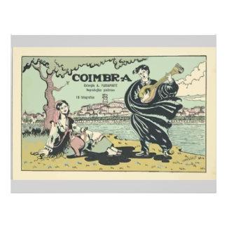 Coimbra , Vintage Flyer