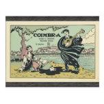 Coímbra, vintage postal
