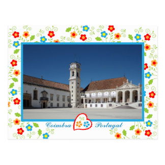 Coimbra's old University - Portugal Postcard