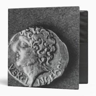 Coin bearing the effigy of Vercingetorix 3 Ring Binder