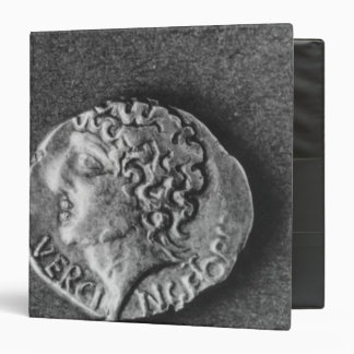 Coin bearing the effigy of Vercingetorix 3 Ring Binders